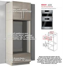 Kitchen Oven Cabinets by Kitchen Appliance Case Wall Cabinets