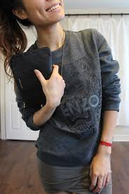 kenzo tiger sweatshirt grey fashion items pinterest kenzo
