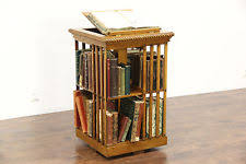 Danner Revolving Bookcase Antique Bookcases 1900 1950 Ebay