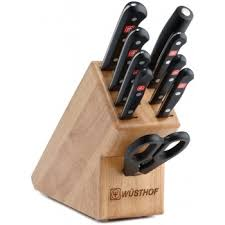 wusthof kitchen knives wusthof knives gourmet knife set 10 block set 9310