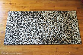 the funky monkey flor spot on leopard print modular carpet tiles