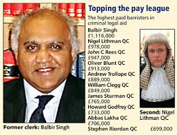 trendy sign balbir s picture 1 1m earnings in a year for top aid barrister daily mail
