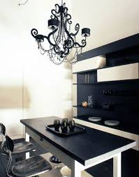 interior design color schemes black and white