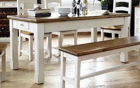 Esszimmertisch Sale Esstisch Aus Recyceltem Kiefernholz In Weiß Und Honigfarben Mit 1