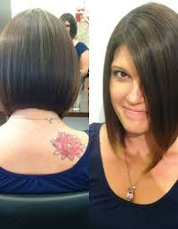 front and back pictures of short hairstyles for gray hair bob haircuts short in back long in front design ideas short
