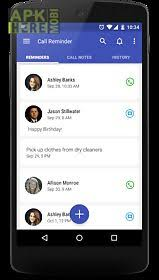 android reminder app call reminder for android free at apk here store
