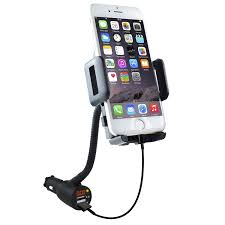 3 in 1 car mount charger voltmeter soaiy car cell phone holder