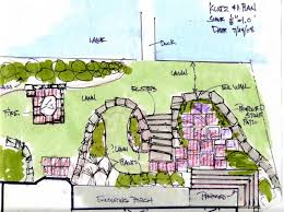 conceptual drawings for terrace and patio 2 the whispering crane