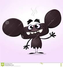 Cute Halloween Vector Cute Black Cartoon Monster Halloween Vector Monster Character