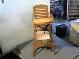 chaise bebe en bois chaise haute bébé bois anc la remise ressourcerie en combrailles