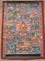 hand made tibetan thangkas by tibetan artisans in tibet