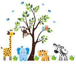 Safari Nursery Wall Decals 238 Best Safari Nursery Decals Images On Pinterest Nursery