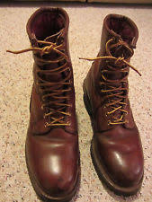 Are Logger Boots Comfortable Red Wing Pecos Boots With Steel Toes 2405 Size 9 D Comfortable