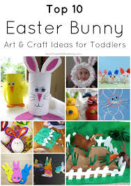 Arts Craft Crafts For Craft Top 10 Easter Bunny Craft Ideas For Toddlers