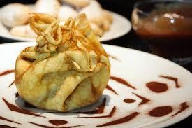 crepes hervé cuisine recette des crêpes surprises en aumônière tiramisu et mont blanc