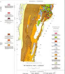 Map Of Vt The Corn Crib U2014 Metamorphic Map Of Vermont Geology 1861