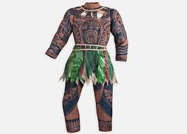 Water Halloween Costume Disney Water U0027brown Skin U0027 Moana Halloween Costume U2014