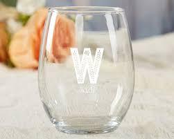 stemless wine glasses wedding favors personalized stemless wine glass rustic wedding practical