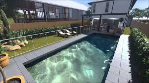 new 2 storey home on small lot wynnum brisbane 3d flyover