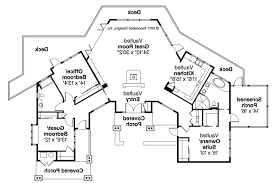 house plans with rear view lodge style house plans sandpoint 10 565 associated designs