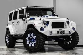 jeep wrangler on 24s this stormtrooper of a jeep wrangler is 60 000 worth of overkill