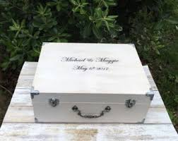 wedding wishes keepsake box time capsule box etsy