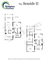 seaside home plans simplex homes beach modular home seaside ii