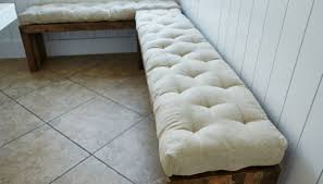 glamorous french tufted bench cushion tags tufted bench cushion