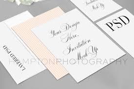 wedding invitation suite wedding invitation suite mock up htons designs