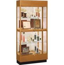 trophy display cabinets heritage oak 2 tier trophy cabinet mirror 36 wx70 h the heritage