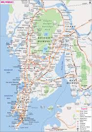 map in road mumbai city map mapsofmumbai