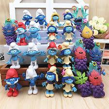 smurfs toys ebay