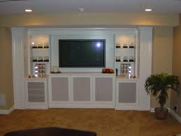 Built In Cabinets Wall Units Interesting Media Built In Cabinets Media Built In
