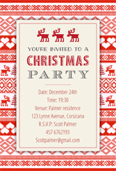 christmas party invitation template free christmas party invitation template cimvitation