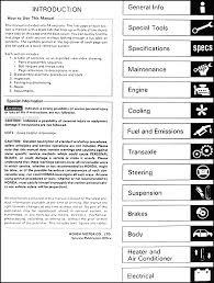 1990 honda prelude repair shop manual original