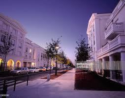 Neoclassical Style Homes Newly Built Residential Neighborhood In Neoclassical Style In