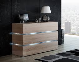 sideboard eiche sonoma kaufexpert kommode shine sideboard 120 cm sonoma eiche led
