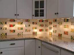 pictures of kitchen backsplashes with tile wall mounted black
