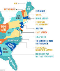Make Up Classes In Nj Hater U0027 Map Shows What People Most In Each State Daily Mail