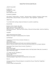 Plain Resume Template Plain Text Resume Template Resume Cv Cover Letter