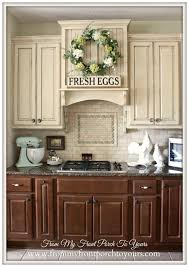 Best  Two Toned Cabinets Ideas Only On Pinterest Redoing - Old farmhouse kitchen cabinets