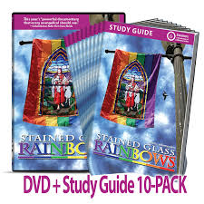 stained glass rainbows dvd study guide 10 pack bundle u2014 save