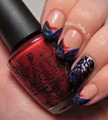 kate u0027s nailing it 4th of july nail art then now and then