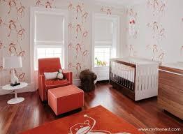 chambre bebe orange décoration chambre bébé 39 idées tendances