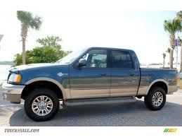 Ford F150 Truck 2002 - 2002 ford f150 king ranch supercrew 4x4 in charcoal blue metallic