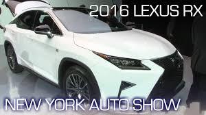 lexus jobs ny new lexus rx mirrors its smaller nx brother in ny