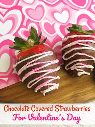 s day strawberries make some chocolate covered strawberries for s day