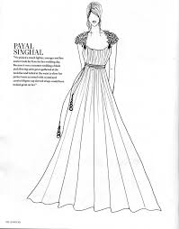 wedding dress designs sketches