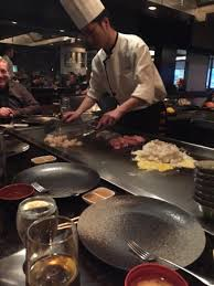 japanese restaurant cook at table view of a cooking table at japanese prince restaurant picture of