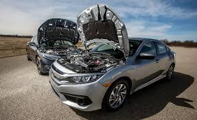 a tale of two honda civics turbo vs non turbo fuel economy